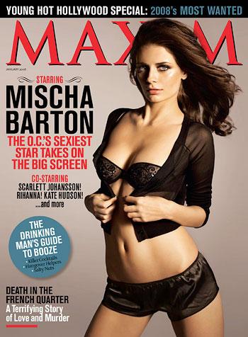Mischa Barton Maxim Magazine Cover
