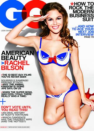 Rachel Bilson Bikini GQ Cover