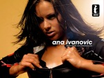Ana Ivanovic ripping top off cleveage boobs
