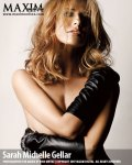 sarah michelle gellar topless wearing long gloves