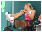 Maria Sharapova crotch panties upskirt knickers ass