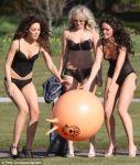 Roxanne McKee lingerie Hollyoaks photo shoot